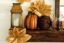 Falling into Fall / Fabric and paper crafts for the fall season! / by Kristin Cofoid
