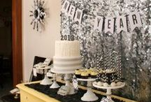 New Years Eve / New Year's Eve party planning ideas