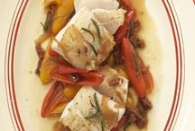 Cod with Peperonata
