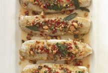 Grilled Fluke with Sage, Capers, and Lemon