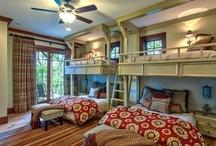 cabin style - kids room