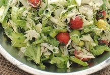 Salads / Delicious salads recipes!  No more of that boring salad that you grew up with.  Get creative and enjoy the veggies!
