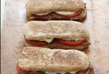"""Panini / Ready for a marvelously mouthwatering sandwich? Here's the wildly popular panino (panini in plural), which is Italian for """"Sandwich""""!"""