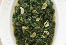 Sauteed Spinach with Garlic  / First things first: I know they say romance may fade over time, but I'm still not over my love affair with spinach!