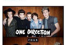 1D<3 / One Direction: Harry, Niall, Liam, Louis, Zayn. / by Breanna Haugen