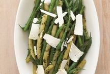 Fresh Beans with Pesto and Ricotta Salata / In a summer Italian garden, fresh beans never grow far from basil. This recipe will make you feel like summer all year long.