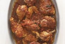 Chicken Cacciatore / This recipe is very similar to the chicken cacciatore of my youth. Bring me a plateful anytime. Then bring me another.