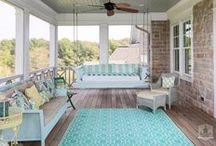 Porches / Our Favorite Coastal Porches  http://www.annamariaislandhomerental.com https://www.facebook.com/AnnaMariaIslandBeachLife Twitter: https://twitter.com/AMIHomeRental