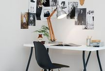 workspace / home office design and decor ideas.