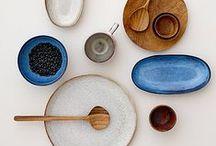 ceramics / porcelain and ceramics for the home.
