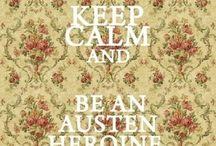 Jane Austen's staff / Jane Austen forever!