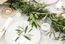 entertaining / dinner parties and table decor inspiration.