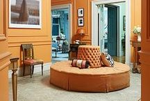 COLOR | Orange Crush / Orange―the stuff of jack-o'-lanterns and garish '70s wardrobes―is actually a wonderfully versatile color for home decor.