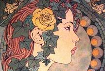 Art Nouveau / by Caroline Guf