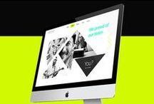 w e b   d e s i g n / user interface, web design, newsletter&website template / by Giorgia Negro