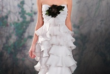 Tiers and Ruffles / Tiers and ruffles add drama and texture to wedding dresses