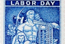 Labor Day / Labor Day is annually held on the first Monday of September. It was originally organized to celebrate various labor associations' strengths of and contributions to the United States economy amongst the blue collar workers. It is largely a day of rest in modern times. Many people mark Labor Day as the end of the summer season and a last chance to make trips or hold outdoor events.  / by Mary Ann Clark