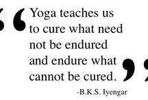 downdogs & dandasana / yoga hatha, iyengar, prenatal, kid's / by Anne GD