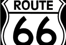 GET YOUR KICKS ON ROUTE 66 / by Joan Wall