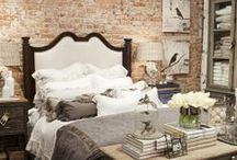 Bedroom idea board... romantic masculine / by Lacy Bobbitt