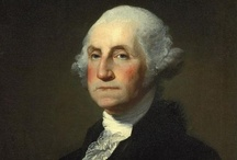 """George Washington, February 22 / Served as Commander in Chief of the Continental Army during the American Revolution.  He was elected uninanimously as our first president in 1788.  Regraded as the """"Father Of Our Country."""""""