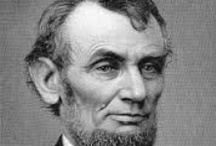 Abraham Lincoln, February 12 / As 16th president, this country lawyer led the country through the Civil War.  He was assassinated in April 1965.