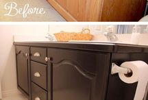Decorating and storage ideas for inside / by Sharon Carpenter