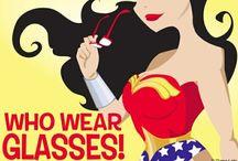 Girls who rock glasses