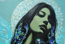 u r b a n    a r t / street art - graffiti - illustration / by Giorgia Negro