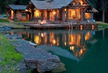 Mountain Cabin Dreams / My someday house in the mountains... Dream Big!