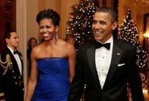The Obamas / My love for the First Family 2008-2016 and beyond! / by Queenie Baxter