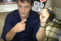 Nathan Fillion, Oh Captain my captain.  King of the Geeks