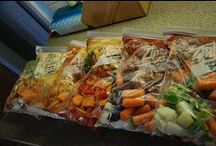 Food- Crock Pot/Freezer Meals / healthy crock pot meals to feed the family / by Michelle Teter
