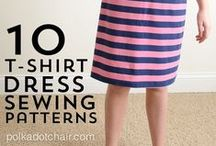 Sewing Tutorials/Ideas / If I ever learn to sew, I might make a few of these things. / by Maria M.