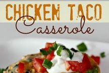 Casseroles / Comfort food at its finest.