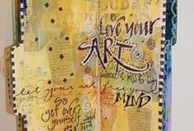 Art Journaling / All about making pages for your art journal.