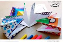 Paper Crafts and Origami / All things about making things with paper. / by Maria M.