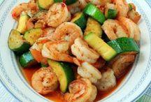I Seafood / Recipes featuring sea food.