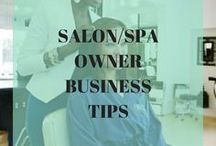 Salon | Spa Owner Business Tips / Tips and inspo for salon or spa owners to help brand, grow and fund your business.