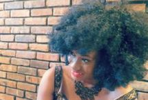 A is for Afro / Natural Afro Hairstyle Inspiration