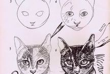 Art - Drawing / How to draw things. / by Maria M.