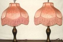 Victorian Shades & Lamps / Go through the shades as there are several Oil Lamps from the Victorian Era / by cheryl A.