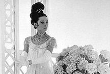 My Fair Lady   Emmy London / 50's / Edwardian / Monchrome / Hydranga's / Sculptural / Audrey!