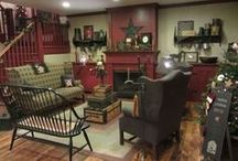Country style home Decorating