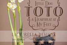 Pets / Pets wall decal quotes, embellishments, and all things animal related for vinyl lettering home decor