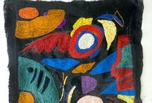 Embroidery , carpets art / my collection of tapestry art