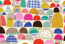 Patterns / my love for textile and surface design in one big board