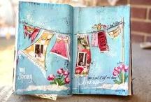 art journaling / by Lori Shive