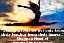 DaNcE  / by Shannon Cribbs