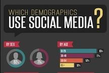 Infografías / Datos imperdibles sobre social media. / by SMO México